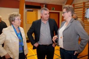 Jelved bydes velkommen af Mogens Nyholm og lokale Camilla Trampedach